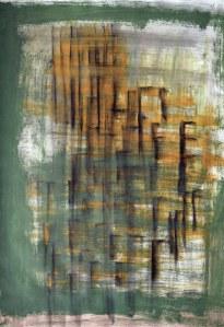 Galata technique mixte sur papier 50 x 65 cm