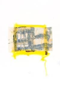 Série des Ponts, collages, 55 x 65 cm