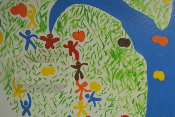 L'arbre à pommes et bonhommes II